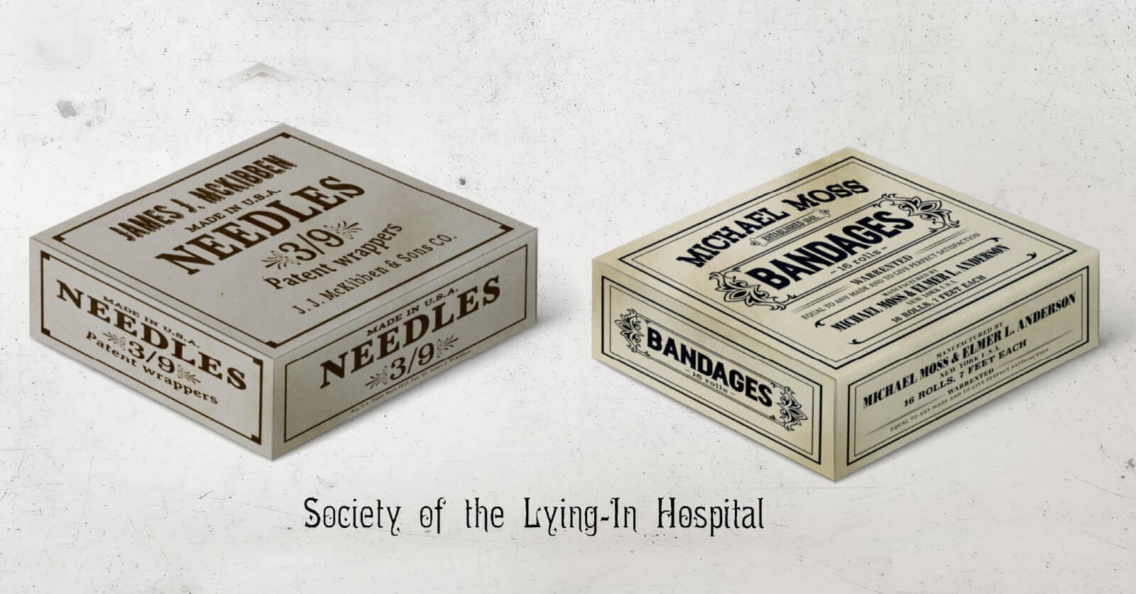 The Angel of Darkness - Medical packageing design