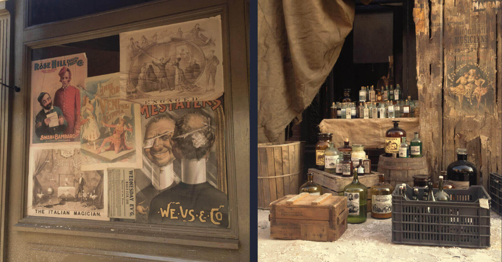 The Alienist - Posters and medical labels